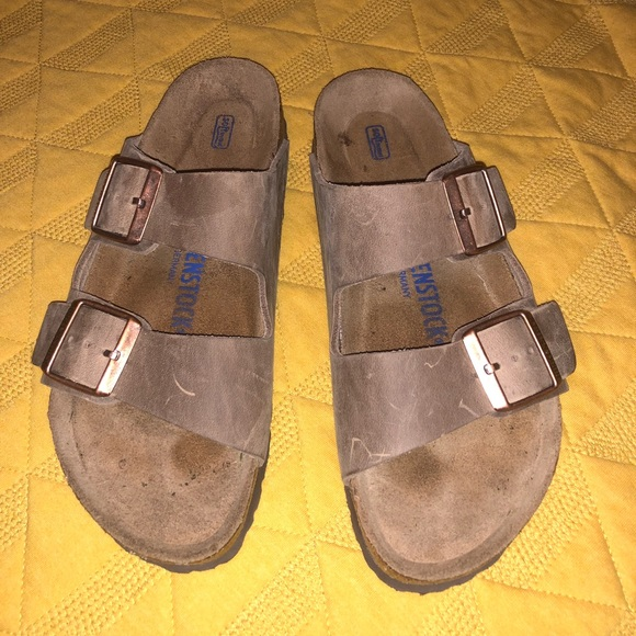 03bc3a9ae3a Birkenstock Shoes - Arizona Soft Footbed Oiled Leather 2 Strap Sandal